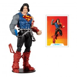 DC MULTIVERSE DARKFATHER SERIES SUPERMAN ACTION FIGURE MC FARLANE