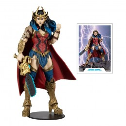 DC MULTIVERSE DARKFATHER SERIES WONDER WOMAN ACTION FIGURE MC FARLANE