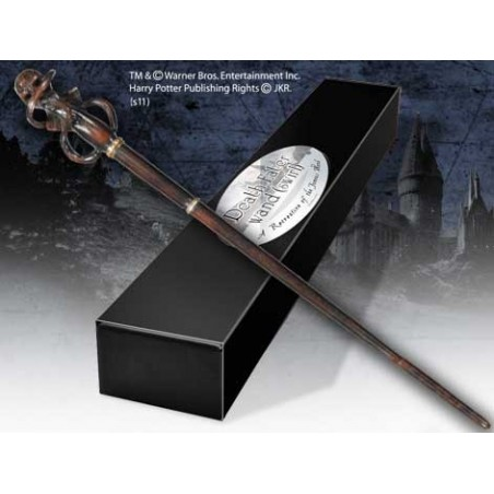 HARRY POTTER WAND DEATH EATER SWIRL REPLICA BACCHETTA