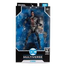 DC JUSTICE LEAGUE MOVIE CYBORG ACTION FIGURE MC FARLANE