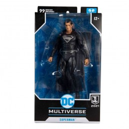 DC JUSTICE LEAGUE MOVIE SUPERMAN ACTION FIGURE MC FARLANE
