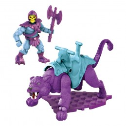 MASTERS OF THE UNIVERSE SKELETOR AND PANTHOR MEGA CONSTRUX SET MATTEL