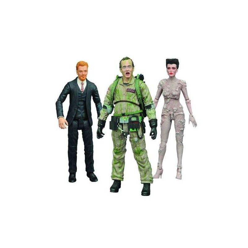 GHOSTBUSTERS SERIES 4 - WALTER PECK ACTION FIGURE DIAMOND SELECT