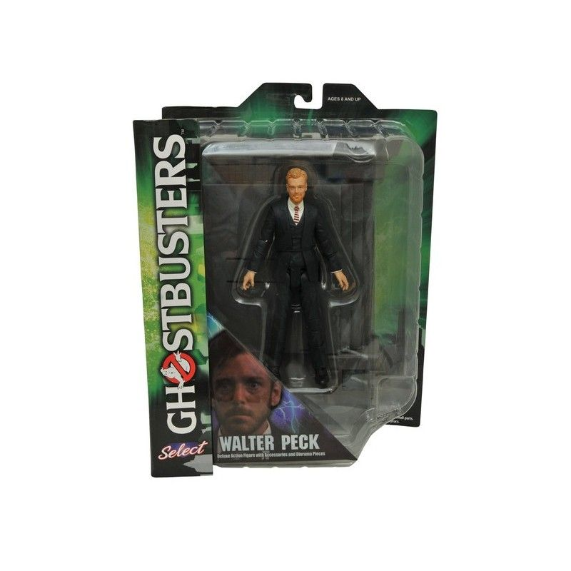 DIAMOND SELECT GHOSTBUSTERS SERIES 4 - WALTER PECK ACTION FIGURE
