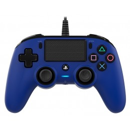 NACON CONTROLLER WIRED DUAL SHOCK 4 PS4 BLU