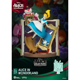 D-STAGE ALICE IN WONDERLAND BOOK 077 STATUA FIGURE DIORAMA BEAST KINGDOM