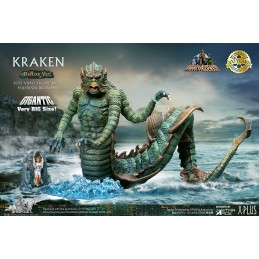 CLASH OF THE TITANS KRAKEN DELUXE STATUA FIGURE STAR ACE