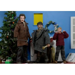 NECA HOME ALONE CLOTHED SET 3 ACTION FIGURES