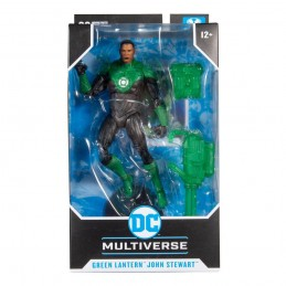 DC MULTIVERSE GREEN LANTERN JOHN STEWART ACTION FIGURE MC FARLANE