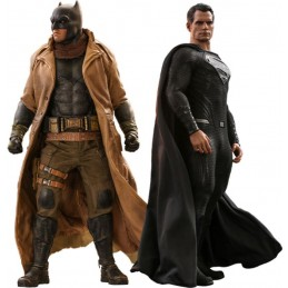 ZACK SNYDER'S JUSTICE LEAGUE KNIGHTMARE BATMAN AND SUPERMAN MASTERPIECE 1/6 ACTION FIGURE HOT TOYS