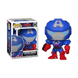 FUNKO FUNKO POP! MARVEL MECH CAPTAIN AMERICA BOBBLE HEAD FIGURE