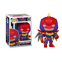 FUNKO FUNKO POP! MARVEL MECH CAPTAIN MARVEL BOBBLE HEAD FIGURE