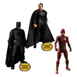 ZACK SNYDER'S JUSTICE LEAGUE DELUXE STEEL BOX SET ONE:12 ACTION FIGURE MEZCO TOYS