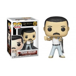 FUNKO POP! QUEEN - FREDDIE MERCURY BOBBLE HEAD KNOCKER FIGURE FUNKO