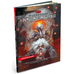 DUNGEONS AND DRAGONS 5 WATERDEEP IL DUNGEON DEL MAGO FOLLE ITALIANO ASMODEE