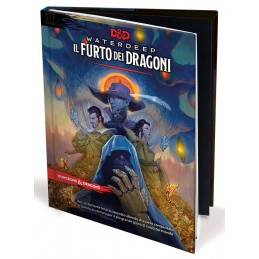 DUNGEONS AND DRAGONS 5 WATERDEEP IL FURTO DEI DRAGONI ASMODEE
