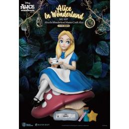 ALICE IN WONDERLAND STATUA 36CM MASTERCRAFT FIGURE BEAST KINGDOM