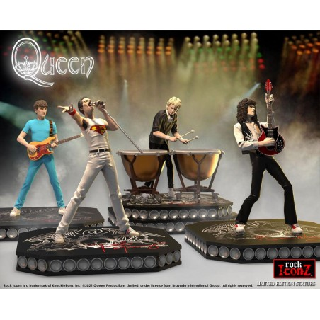 ROCK ICONZ QUEEN LIMITED EDITION STATUE FIGURE