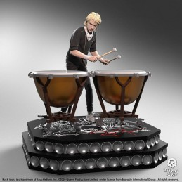 ROCK ICONZ QUEEN ROGER TAYLOR LIMITED EDITION STATUA FIGURE KNUCKLEBONZ
