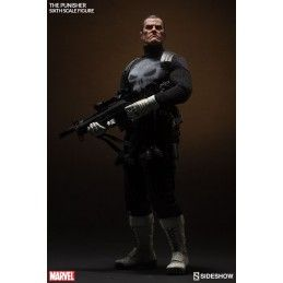 "SIDESHOW MARVEL FRANK CASTLE PUNISHER 12"" ACTION FIGURE"