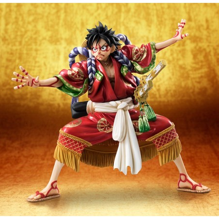 ONE PIECE POP P.O.P. MONKEY D LUFFY LTD KABUKI STATUE FIGURE