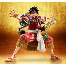 ONE PIECE POP P.O.P. MONKEY D LUFFY LTD KABUKI ED. STATUE FIGURE