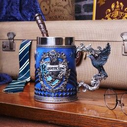 NEMESIS NOW HARRY POTTER RAVENCLAW LOGO TANKARD RESIN BOCCALE