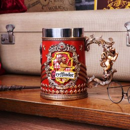 NEMESIS NOW HARRY POTTER GRYFFINDOR LOGO TANKARD RESIN BOCCALE
