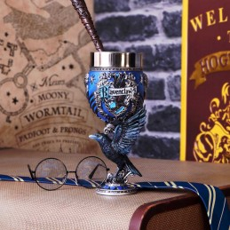 NEMESIS NOW HARRY POTTER RAVENCLAW LOGO GOBLET RESIN CALICE