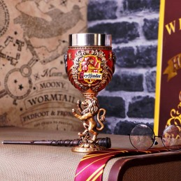 NEMESIS NOW HARRY POTTER GRYFFINDOR LOGO GOBLET RESIN CALICE
