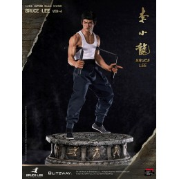 BRUCE LEE HYBRID TYPE SUPERB 57CM STATUA FIGURE BLITZWAY
