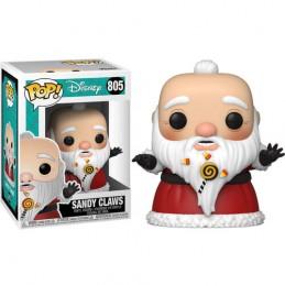 FUNKO POP! THE NIGHTMARE BEFORE CHRISTMAS SANDY CLAWS BOBBLE HEAD KNOCKER FIGURE FUNKO