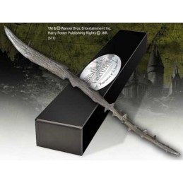 HARRY POTTER WAND DEATH EATER THORN REPLICA BACCHETTA NOBLE COLLECTIONS
