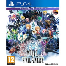 WORLD OF FINAL FANTASY LIMITED EDITION PS4 PLAYSTATION 4 USATO ITALIANO