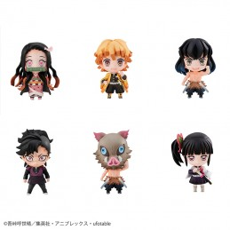 MEGAHOUSE DEMON SLAYER TANJIRO AND FRIENDS MASCOTS SET FIGURES