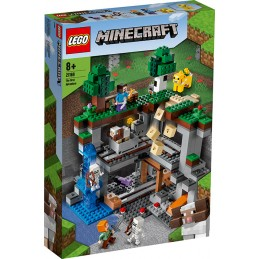 LEGO MINECRAFT THE FIRST ADVENTURE LA PRIMA AVVENTURA 21169