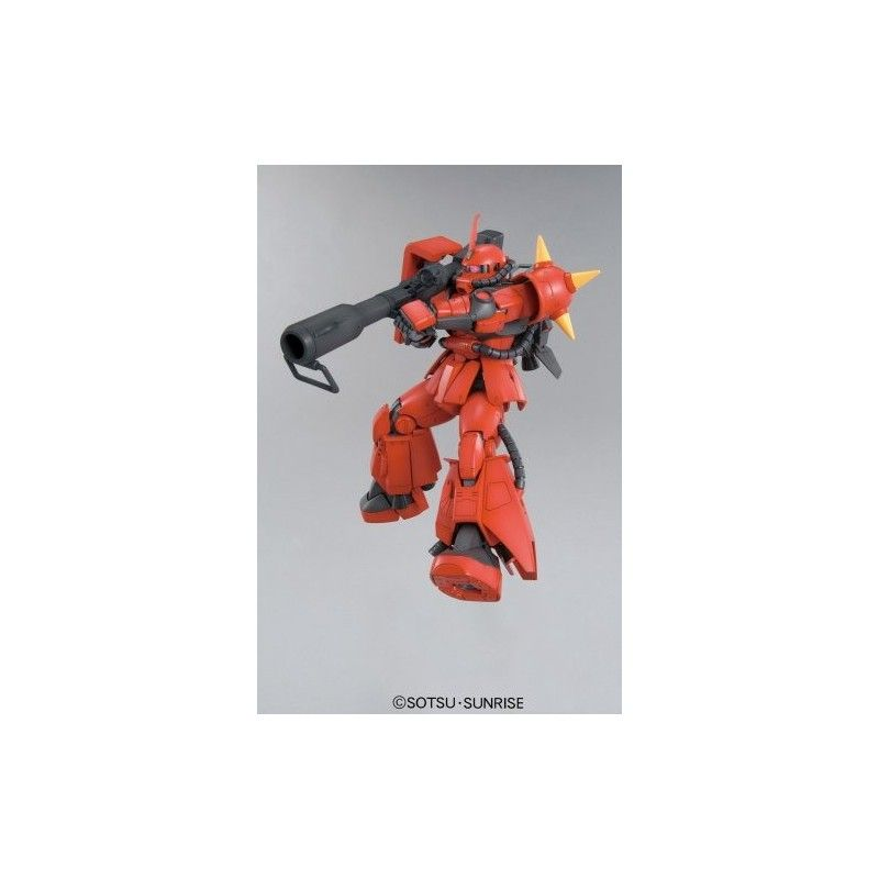 MASTER GRADE MG MS-06R-2 J ZAKU RIDDEN VER 2.0 1/100 MODEL KIT BANDAI