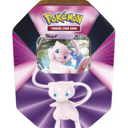POKEMON TIN COLLECTION SPRING 2021 MEW V THE POKEMON COMPANY INTERNATIONAL