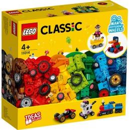 LEGO CLASSIC MATTONCINI SU RUOTE 11014