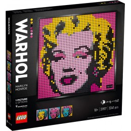 LEGO ART WARHOL MARILYN MONROE 31197
