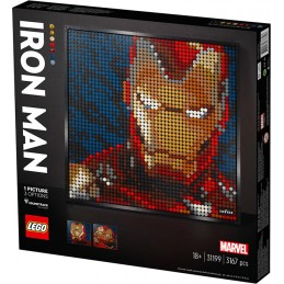 LEGO ART IRON MAN MARVEL 31199