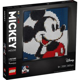 LEGO ART MICKEY MOUSE DISNEY 31202