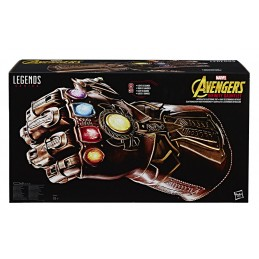 HASBRO MARVEL LEGENDS AVENGERS INFINITY GAUNTLET FULL SCALE GUANTO INFINITO 1/1