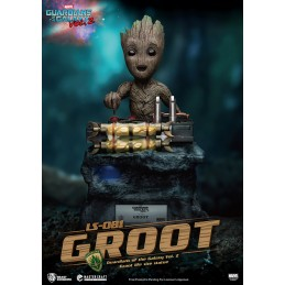BEAST KINGDOM GUARDIANS OF THE GALAXY GROOT LIFE SIZE STATUE FIGURE