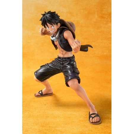ONE PIECE ZERO MONKEY D. LUFFY FILM GOLD FIGUARTS ZERO FIGURE