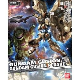 BANDAI IRON BLOODED ORPHANS GUNDAM GUSION/GUSION REBAKE 1/100 MODEL KIT