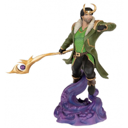 MARVEL CONTEST OF CHAMPIONS LOKI 1/10 STATUA FIGURE POP CULTURE SHOCK COLLECTIBLES