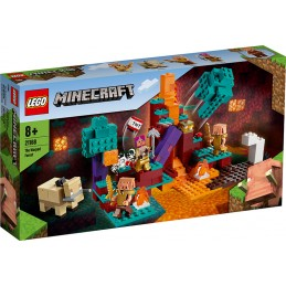 LEGO MINECRAFT THE WARPED FOREST 21168