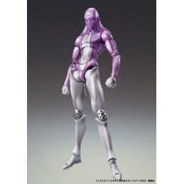 JOJO BIZARRE ADVENTURE MOODY BLUES CHOZOKADO ACTION FIGURE MEDICOS ENTERTAINMENT