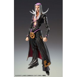 JOJO BIZARRE ADVENTURE LEONE ABBACCHIO CHOZOKADO ACTION FIGURE MEDICOS ENTERTAINMENT